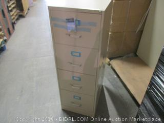 File Cabinet Damaged See Pictures