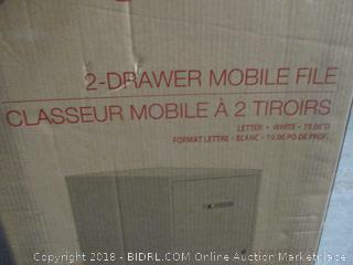 2 Drawer Mobile File