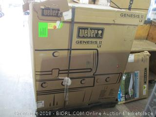 Weber 62004001 Genesis II LX S-440 Liquid Propane Grill, Stainless Steel (Retail $2,120.00)