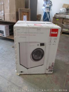 RCA RWD200 2.0 Cubic Feet Front Loading Washer and Dryer Combo, White (Retail $752.00)
