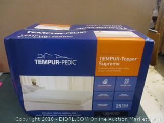 Tempur Pedic Bed Topper