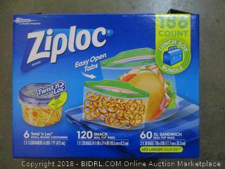 Ziploc Twist N Loc Small Round Containers