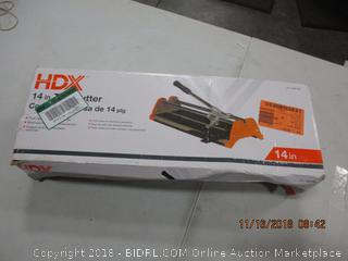 """HDX 14"""" Tile Cutter"""