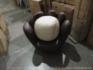 Glove and Ball Chair and Ottoman