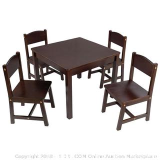 KidKraft Farmhouse Table and Chair Set (Online $98.18)NEW