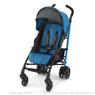 """Chicco Liteway Aluminum Stroller """"Ocean"""" - NEW (online $99)"""