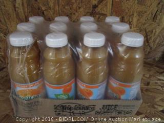 Case of 12 x Tropicana Orange Juice Bottles 32fl oz