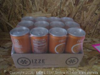 Case of 12 x Izze Sparkling Clementine Juice Cans 6.4fl oz