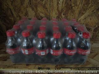 Case of 24 x Coke Coca Cola Bottles 12fl oz