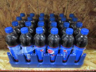 Flat of 24 x Pepsi Bottles Wild Cherry 16.9fl oz