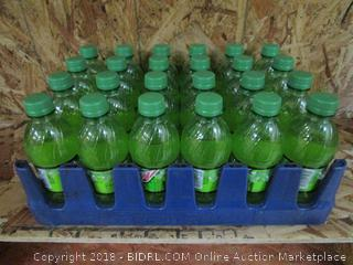 Flat of 24 x Mountain Mtn Dew Bottles 12fl oz