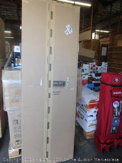 Salsbury Industries 30044BLK 24-Inch Deep Side Panel for Open Access Designer Locker