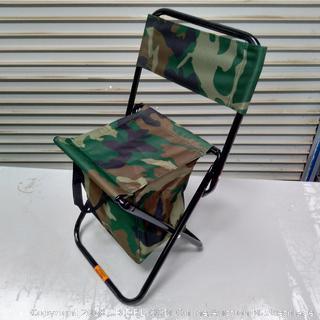 Camo Camping Folding Chair