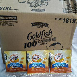 Goldfish - 100 packages