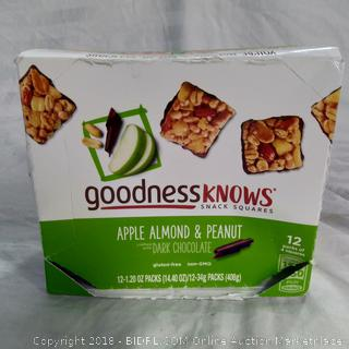 Goodness Knows Snack Squares