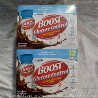 Boost Glucose Control Nutritional Drink - 24 bottles