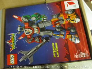 LEGO Voltron toy - please preview