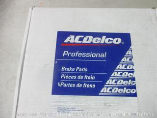 ACDelco professional brake parts