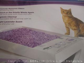 Scoop Free Disposable Crystal Litter Tray