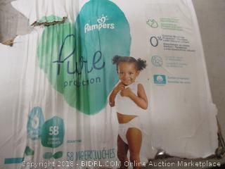 Pampers Pure Protection Diapers Size 6