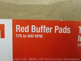 Red Buffer Pads