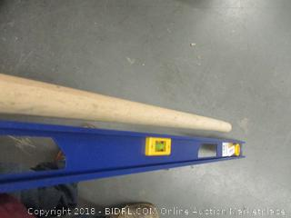 Measuring Stick and Wooden Handle