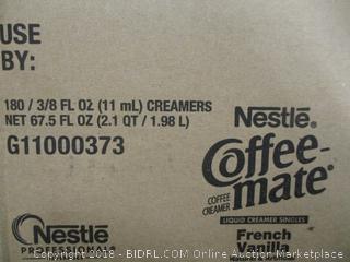 Coffee Mate Creamer Singles French Vanilla