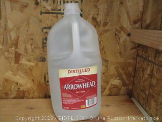 Arrowhead Distilled Water Jug