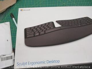 Ergonomic Desktop Damaged