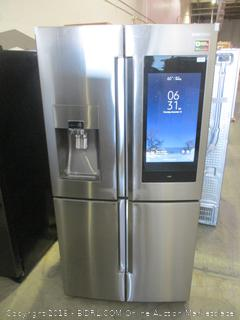 Samsung Refrigerator Powers On, Inside Cameras, Connects to WiFI,Digital Inverter Technology, Triple & Metal Cooling, See Pictures