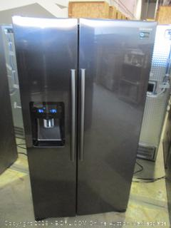 Samsung Refrigerator Digital Inverter Technology, Powers On, Scratched, dented, See Pictures