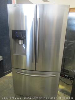 Samsung Refrigerator  Powers On,dented,  Twin Cooling Plus, Cool Select Pantry, See Pictures