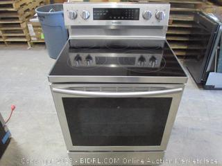 Samsung Electric Stove/Oven ,dented see Pictures