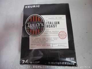 Tully's Coffee Keurig Cups