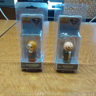 82 Supergirl and 83 Vartox