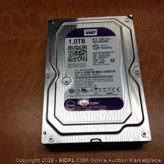 WD Purple Surveillance Hard Drive