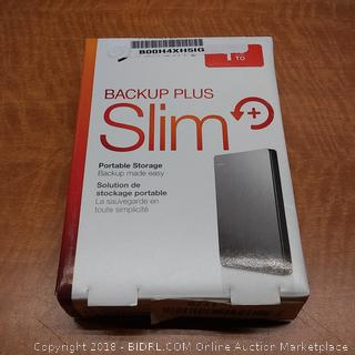 Seagate Backup Plus Slim Portable Storage