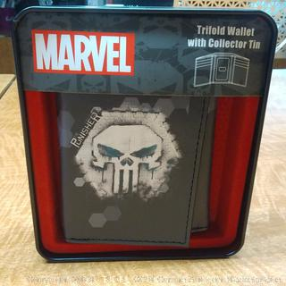 Marvel Trifold Wallet with Collector Tin