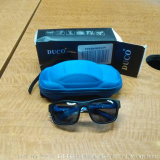 DUCO Sunglasses  and Case