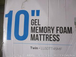 "Lucid 10"" Gel Memory Foam Mattress Twin"
