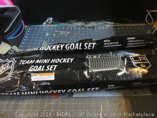 Team Mini Hockey Goal Set