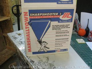 Sharp Shooter  Drywall Hopper Gun