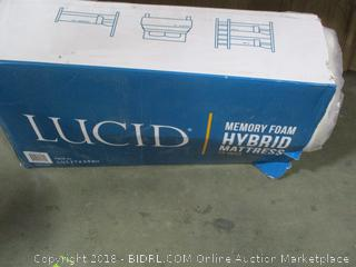 Lucid Memory Foam Hybrid Mattress, 12 Inch, Twin XL
