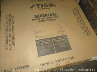 Stiga Advantage Indoor Table Tennis Table - Dented