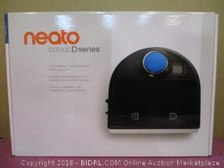 Neato botvoc D Series Robot Vacuum Factory Sealed with the one exception of the one used for pictures
