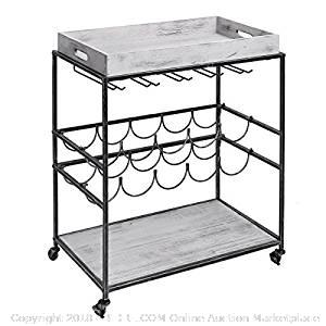 """Old Dutch """"Avalon"""" Wine and Serving Cart (Online $163.23)"""