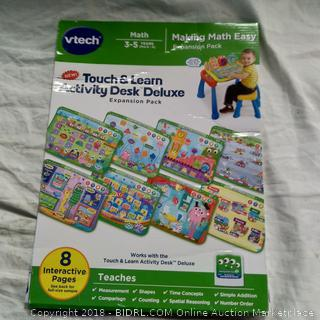 Vtech Touch and Learn Activity Desk-Making Math Easy