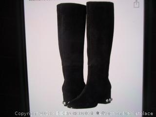 The Fix Black Suede Boots 8.5 B(M)