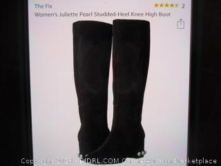 The Fix Black Suede Boots 9B(M)