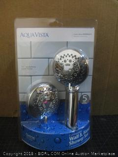 Aqua Vista Combination Wall & Hand Shower Set